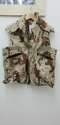 Military Issued Choc Chip Desert Pasgt Vest-new