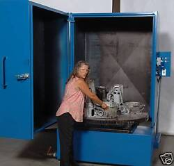 Maxjet Cabinet Parts Washer 50 Turntable With 60 Working Height 15hp