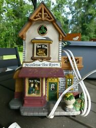 Christmas Village Houses And Other Items
