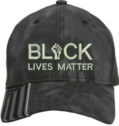 Black Lives Matter I Can't Breathe Embroidered One Size Fits All Baseball Hats $19.99