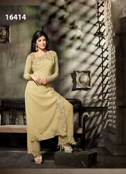 Latest Designer Party Wear Heavy Georgette Suit Long dress plazzo style