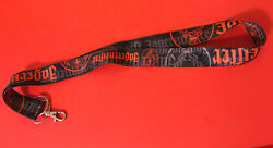 """Jagermeister Lanyard W/lobster Claw Clip Keychain Ring Id Badge Holder Deer 18"""""""