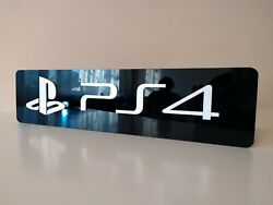Sony Playstation 4 Logo   Video Game Decor   Game Room Decor   Gamer Gift   Sign