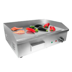 Flat Top Griddle | Teppanyaki Grill With Single Thermostat | Commercial Griddle