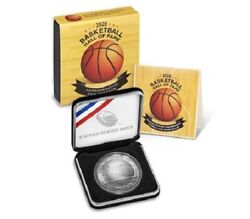 Basketball Hall Of Fame 2020 Uncirculated Silver Dollar Arrived 20cd