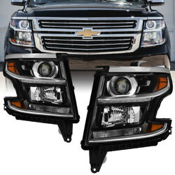 15-18 Chevy Suburban Tahoe [factory Look] Chrome Headlight Replacement Assembly