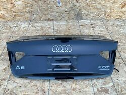 Trunk Lid Deck Assembly W/spoiler Lip Oem 08-17 Audi A5 S5 B8 Coupe