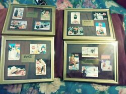 16 Smithand039s Coke Cards Coca-cola Set Of 4 Phone Card Per Frame