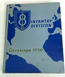 1956 Us Army 8th Infantry Division Yearbook
