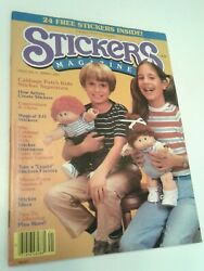 Vintage Stickers Magazine 80s Cabbage Patch Kids Issue 2 Spring 1984 And Stuff