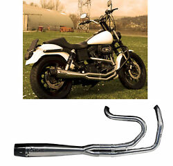 Mohican Arrow Full Exhaust Lucido Harley Davidson Dyna 2014 14
