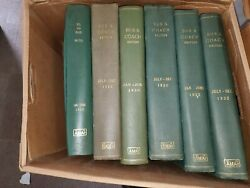 Bus And Coach Magazine 29 Bound Volumes 1929-1937 And1951-1958 From England
