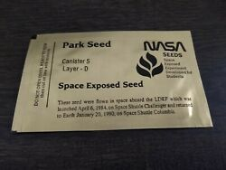 Nasa Space Exposed Tomato Seeds Ldef Sts-41c - Sts-32