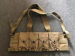 4 Units - Rhodesian Army Fereday And Sons Chest Rig Selous Scouts Sas Sadf Chicom