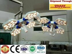 Ossio 404 Double Dome Ceiling Ot Light Surgical Led Ot Surgery Operating Light @