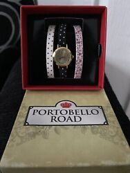 Ladies Watch 3 Different Style Straps Which Can Be Changed Free Delivery.