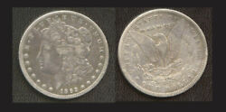 1893-cc 1 Very Nice Sharp Color-morgan Dollar
