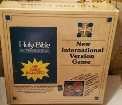 The Niv Bible Game - New International Version Includes Holy Bible New And Sealed