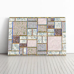 Piet Mondrian Style Of Framed Canvas Print Wall Art Picture Large Home Decor