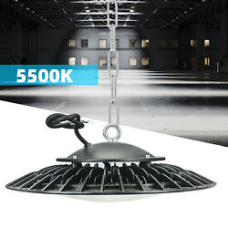 10 Pack 200w Ufo Led High Bay Light Lamp Factory Warehouse Industrial Lighting