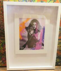 Last Call5500 Extremely Rare Signed Number Brigitte Bardot Mixed Media By Y711