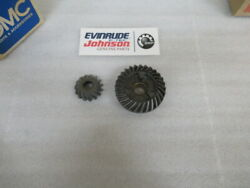 P13c Evinrude Johnson Omc 397421 Gear Set And Tag Assy Oem New Factory Boat Parts