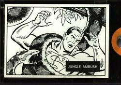 1966 Topps Vault Superman In The Jungle Original Colorless Proof Card 20
