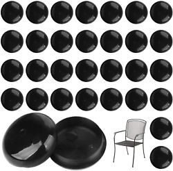 32 Pack Of 1.5andrdquo Patio Furniture Glides/feet/caps For Wrought Iron Outdoor Furnit