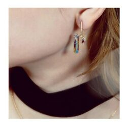 Brand New Crystal Earrings Free Shipping Good Quality
