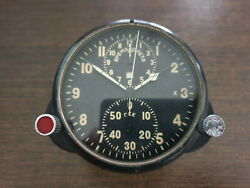 Russian Soviet Ussr Mig Aircraft Military Cockpit Clock Ayc 1. Boardwatch.