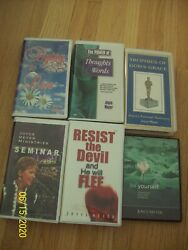 Lot Of 6 Joyce Meyer Christian Messages Audio Cassette Tapes
