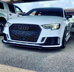 Bkm Rs3 Style Aftermarket Front Bumper, Fits Audi A3 / S3 8v.5 With Lip