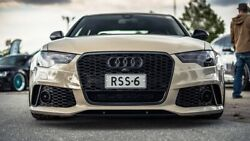 Bkm Rs6 Style Aftermarket Front Bumper Fits Audi A6 / S6 C7.0 Carbone Style Opt