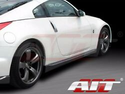 For Nissan 350z 2003-2008 Nismo-3 Style Side Skirts By Ait Racing Pair Set L/r