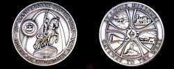 1970 American Numismatic Association 79th Convention 34.5g Silver - St. Louis