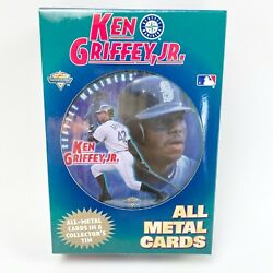 Ken Griffey Jr. All Metal Cards In A Collector's Tin Baseball Mlb