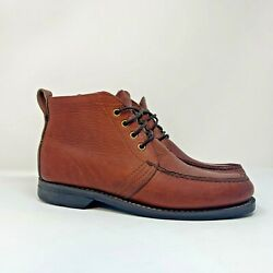 Gokey/orvis Menand039s Sz 9 D Sauvage Hikers Chukka Boots Shoes Gro-cord Soles
