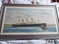 Titanic Ltd Print The Titanic At Queenstown By Simon Fisher 98/500
