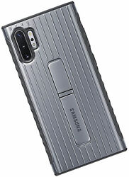 For Samsung Galaxy Note10+ Case Rugged Drop Protection Cover - Silver