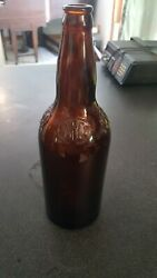 Vintage Brown Bottle Cold Spring Brewing Company Lawrence Mass. One Quart