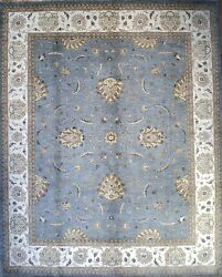 Hand-knotted Rug Carpet 8and0392x10 Agra Mint Condition