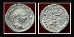 Elagabalus 219 Ad - Antoninianus-very Nice Surfaces And Patina To The Coin Ar A
