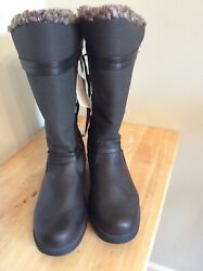Totes Boots Mona II US Womens Size 7 In Brown $34.00