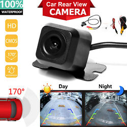 170° CMOS Car Rear View Backup Camera Reverse HD Night Vision Waterproof CAM Kit $15.70