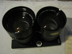 New Konica Hexanon F=135 Mm 13.5 With Diaphragm In Viewing Lens For Koni-omegaf