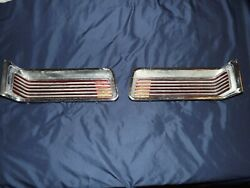 19651966 Amc Rambler Marlin Left And Right Real Tail Light Assemblies All 8 Parts