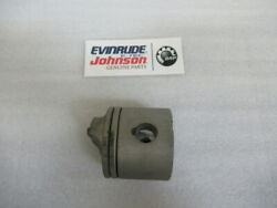 B50 Evinrude Johnson Omc 439519 Piston And Ring Assembly Oem New Factory Boat Part