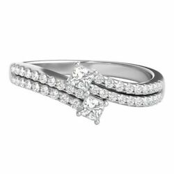 Exclusively Us 1/2 Ct Natural Diamond Ring In 10k White Gold
