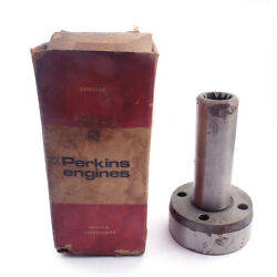 Perkins Engines Tractor Shaft Worm Gear Nos 33472444