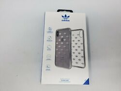 Adidas For Apple iPhone X XS case Cover Trefoil Snap Case Clear Logo New $9.99